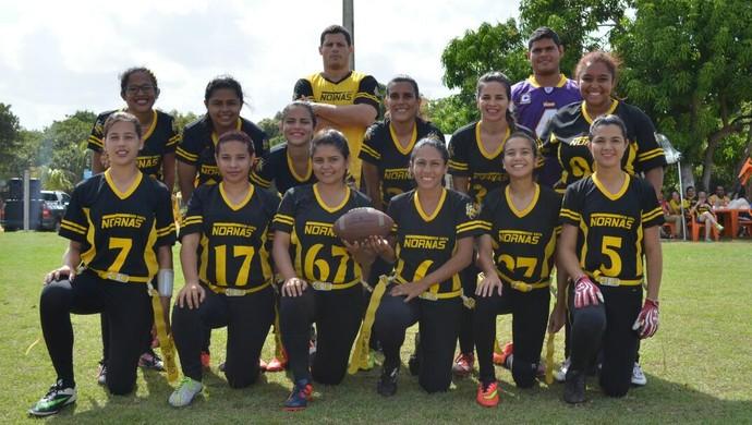 Boa Vista Nornas - flag football Roraima (Foto: Charleson Maduro)