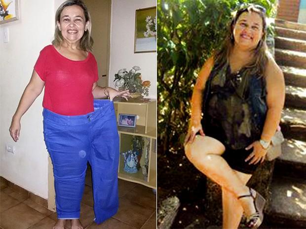 Cristiane Oliveira - Materia perda de peso (Foto: Reprodução/Arquivo Pessoal)
