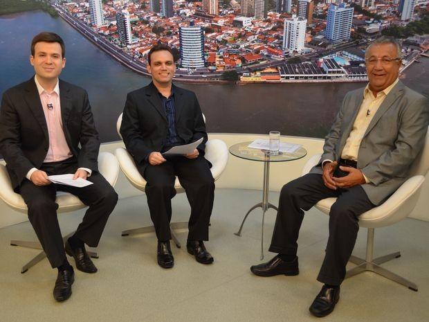 Jackson Barreto é o segundo entrevistado em rodada de perguntas do G1 (Foto: Flávio Antunes/G1)