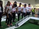No AP, mais de 80 alunos participam de seletiva para Olimpíada de Robótica