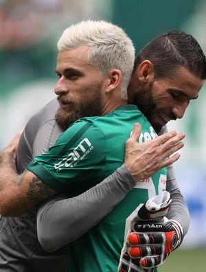Palmeiras x Santos Vanderlei Lucas Lima