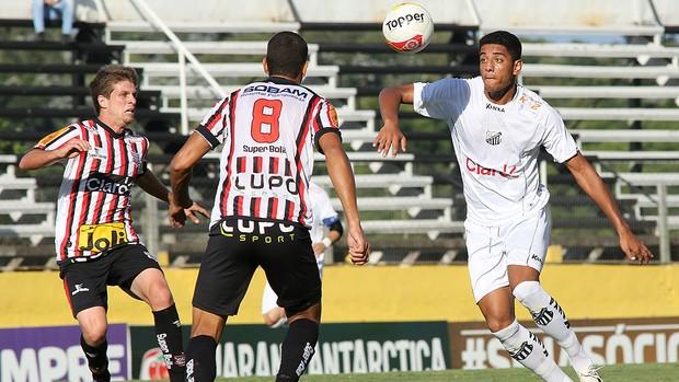 Lincom Bragantino jogo Paulista (Foto: Ag. Estado)