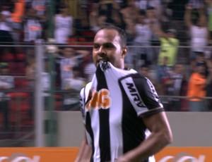 Alecsandro, atacante do Atlético-MG (Foto: Reprodução / Premiere FC)
