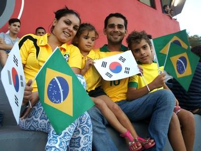 Mirando Costa; família treino coreia; coreia do sul; foz do iguaçu; paraná (Foto: Fabiula Wurmeister)