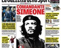 """""""Revolução contra o Tiki Taka"""": jornal põe Simeone como Che Guevara"""