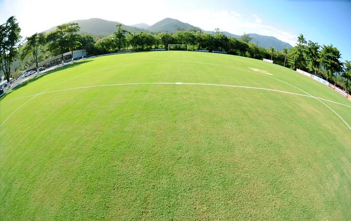 Gramado do campo 1 do Ninho do Urubu Flamengo (Foto: Alexandre Vidal / Flaimagem)