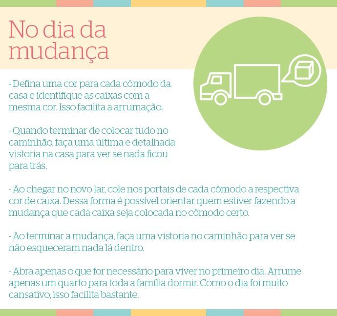 É de Casa: Checklist no dia da mudança (Foto: Cristiano Zoucas/Gshow)
