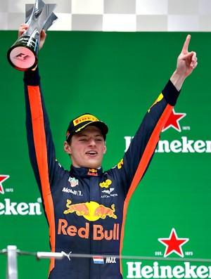 Max Verstappen no GP da China