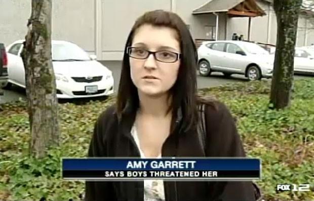Meninos de 7 e 11 anos tentaram roubar veículo de Amy Garrett. (Foto: Reprodução)