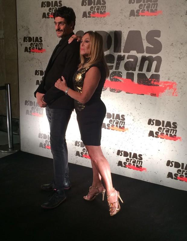 Júlio Machado e Susana Vieira (Foto: QUEM)