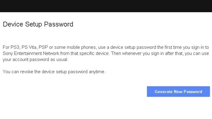 Gere uma password de ativação temporária para o seu PS3, PSP ou PS Vita (Foto: Reprodução/Rafael Monteiro)