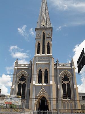 Igreja dos Mares (Foto: Henrique Mendes/G1)