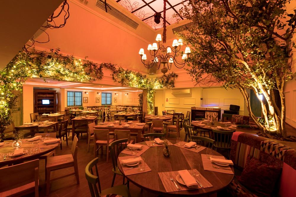 Salão do Cafe de la Musique (Foto: Divulgação)