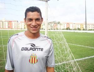 Meia kléo quer conquistar a Copa União e a Série D (Foto: Afonso Diniz/Globoesporte.com)