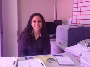Anni Ellen Barbosa, analista do seguro social (Foto: John Pacheco/G1)