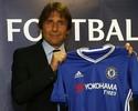 """Conte comanda treino, é apresentado e promete ser """"alfaiate"""" no Chelsea"""