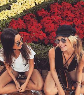Thaila Ayala e Julia Faria em Orlando (Foto: Reprodução/Instagram)
