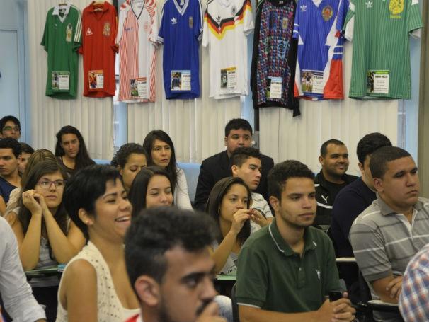 Seminário reuniu estudantes e professores de Comunicação (Foto: Renato Velasco)