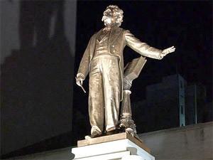 Monumento ao maestro Carlos Gomes, em Campinas (SP)  (Foto: Divulgação/Prefeitura de Campinas)