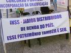 Greve do INSS completa 30 dias com movimento no Centro de Varginha
