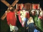 Grupo de Ibitinga emociona público de Botucatu e Itaju com a Via Sacra