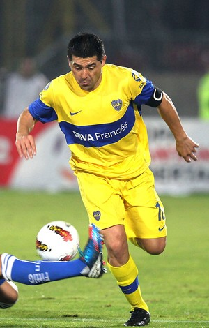 Matias Rodriguez Universidad de Chile e Riquelme  (Foto: Getty Images)