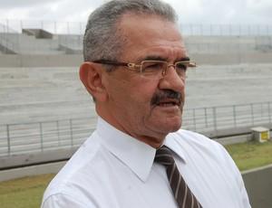 valberto lira no estádio amigão (Foto: João Brandão Neto / GloboEsporte.com/pb)