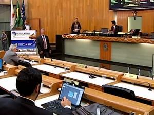 CPI Sintrasp Uberlândia Câmara Municipal (Foto: Reprodução/TV Integração)