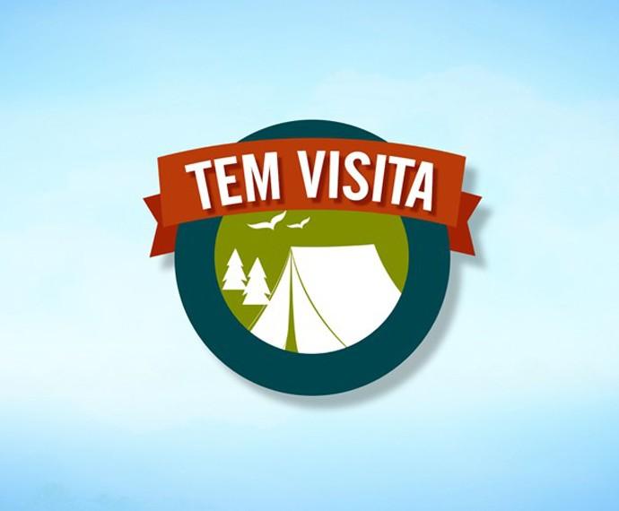 Logo do quadro 'Tem Visita' (Foto: Mais Você/TV Globo)