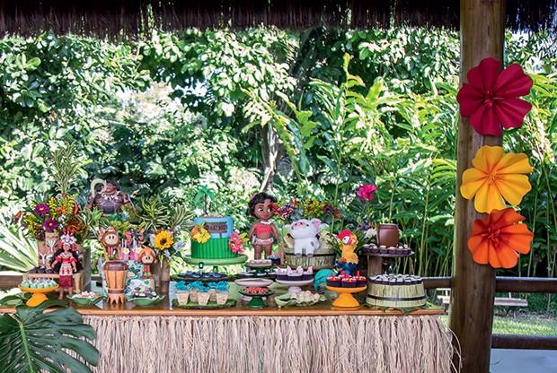 A mesa foi integrada com a natureza (Foto: Thais Galardi/GNT)