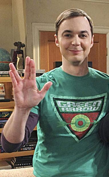 """O personagem Sheldon Cooper, interpretado pelo ator Jim Person na série """"The Big Bang Theory"""" (Foto: Reprodução/Twitter)"""