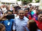 Edmilson vota no bairro de São Brás nesta manhã, em Belém