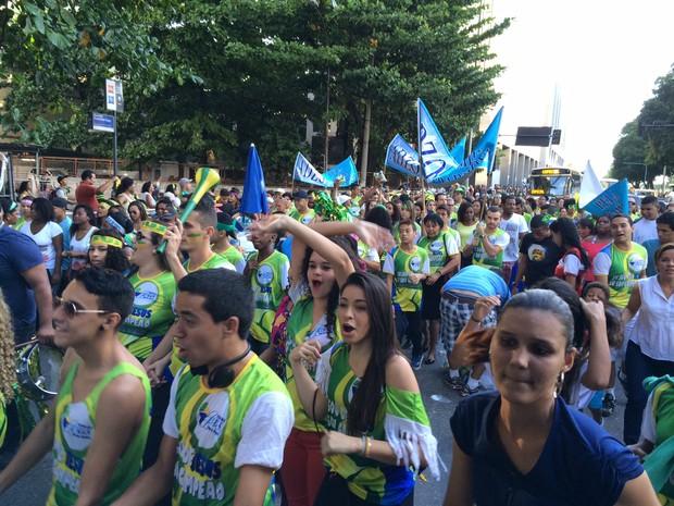Marcha para Jesus acontece no Centro do Rio (Foto: Marcelo Elizardo/G1)