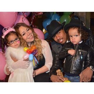 Mariah Carey comemora aniversário dos filhos ao lado do marido, Nick Cannon (Foto: Reprodução/ Instagram)