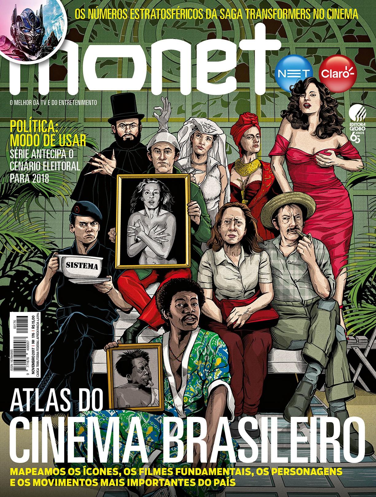 Revista Monet - Edição 176 - Novembro/2017 (Foto: Revista Monet (Ilustração: Cristiano Siqueira))