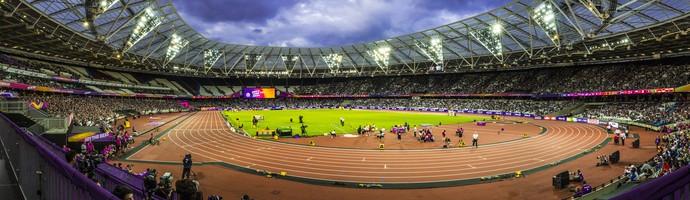 Estádio Olímpico de Londres mundial de atletismo paralímpico (Foto: Marcio Rodrigues/MPIX/CPB)