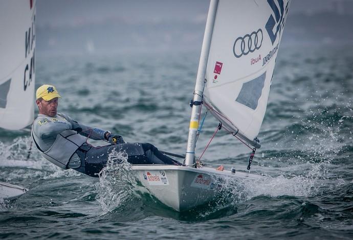 Robert Scheidt está em terceiro lugar na etapa de Miami da Copa do Mundo (Foto: Jesus Renedo/ Sailing Energy/ Divulgação)