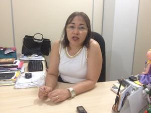 Antônia Andrade, secretária municipal de educação de Macapá (Foto: John Pacheco/G1)
