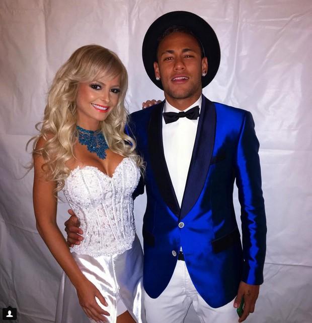 Jhenny Andrade e Neymar (Foto: Instagram / Reprodução)