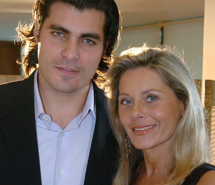 Alex (Thiago Lacerda) e Úrsula (Vera Fischer) em América (Foto: Renato Rocha Miranda / TV Globo)