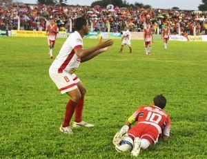 4 de Julho x River-PI pela final do segundo turno do Campeonato Piauiense (Foto: Josiel Martins )