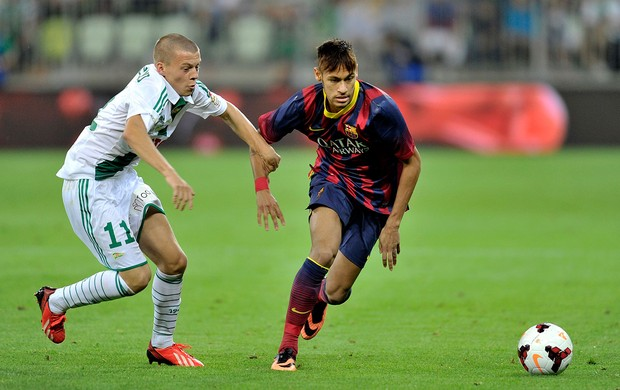 Neymar Barcelona x Lechia (Foto: Getty Images)