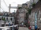 Ladeira da Conceição da Praia é interditada para realização de obras
