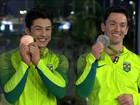 """""""Doze anos para esse momento"""", diz Diego Hypólito sobre prata na Rio 2016"""