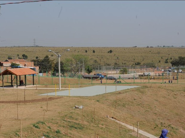 Parque Dom Bosco, na região do Ouro Verde, em Campinas (SP) (Foto: Luiz Granzotto/ Divulgação)