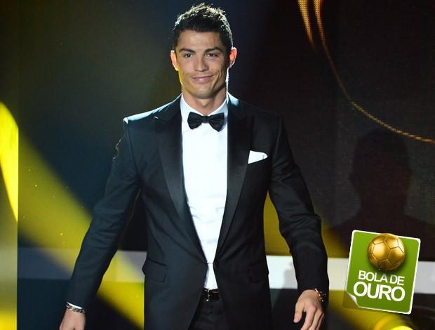 Cristiano Ronaldo selo Bola de ouro (Foto: AFP)