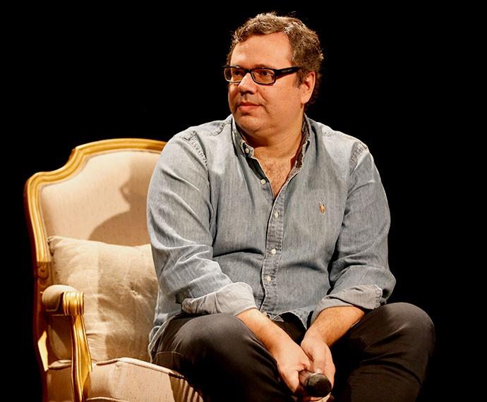 João Emanuel não poupou elogios ao elenco (Foto: Ellen Soares/TV Globo)