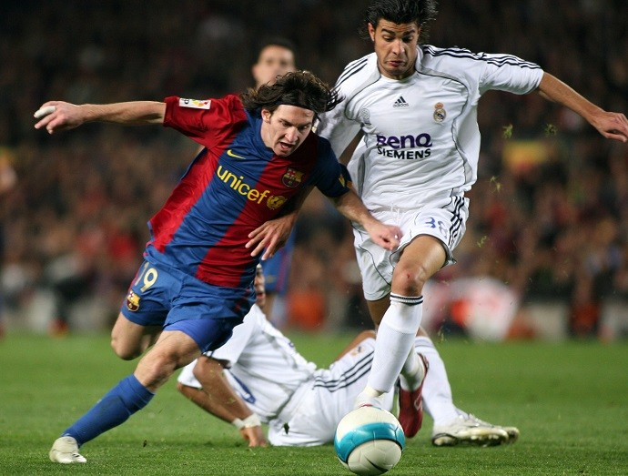 Messi Real Madrid 2004