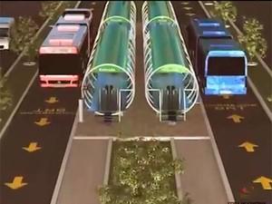 BRT de Feira de Santana terá dois corredores exclusivos  (Foto: Divulgação )