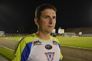 Heder Palmonari, treinador do Ariquemes (Foto: Dennis Gonçalves)